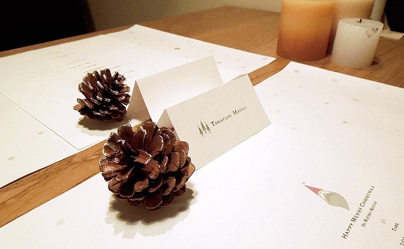 クリスマスツールデザイン